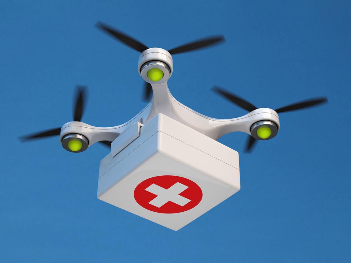 dron médico