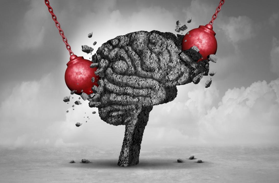 stress on brain