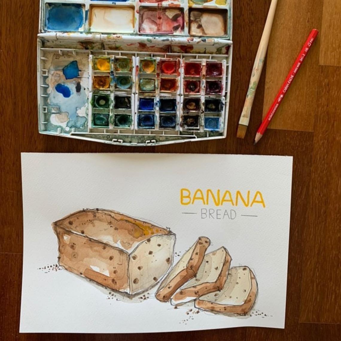Banana bread by Marco Scanziani