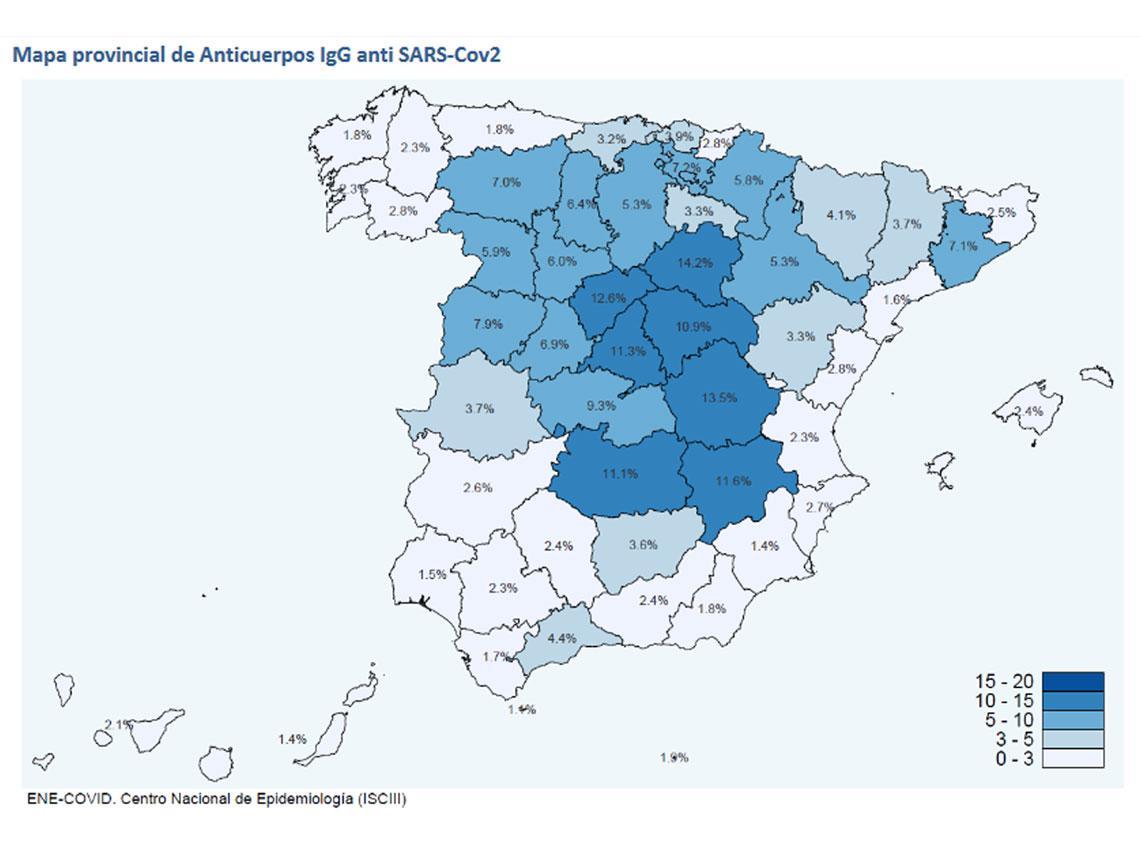 Seroprevalence study in Spain
