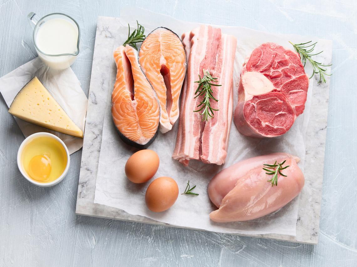 Carne, pescado y huevos
