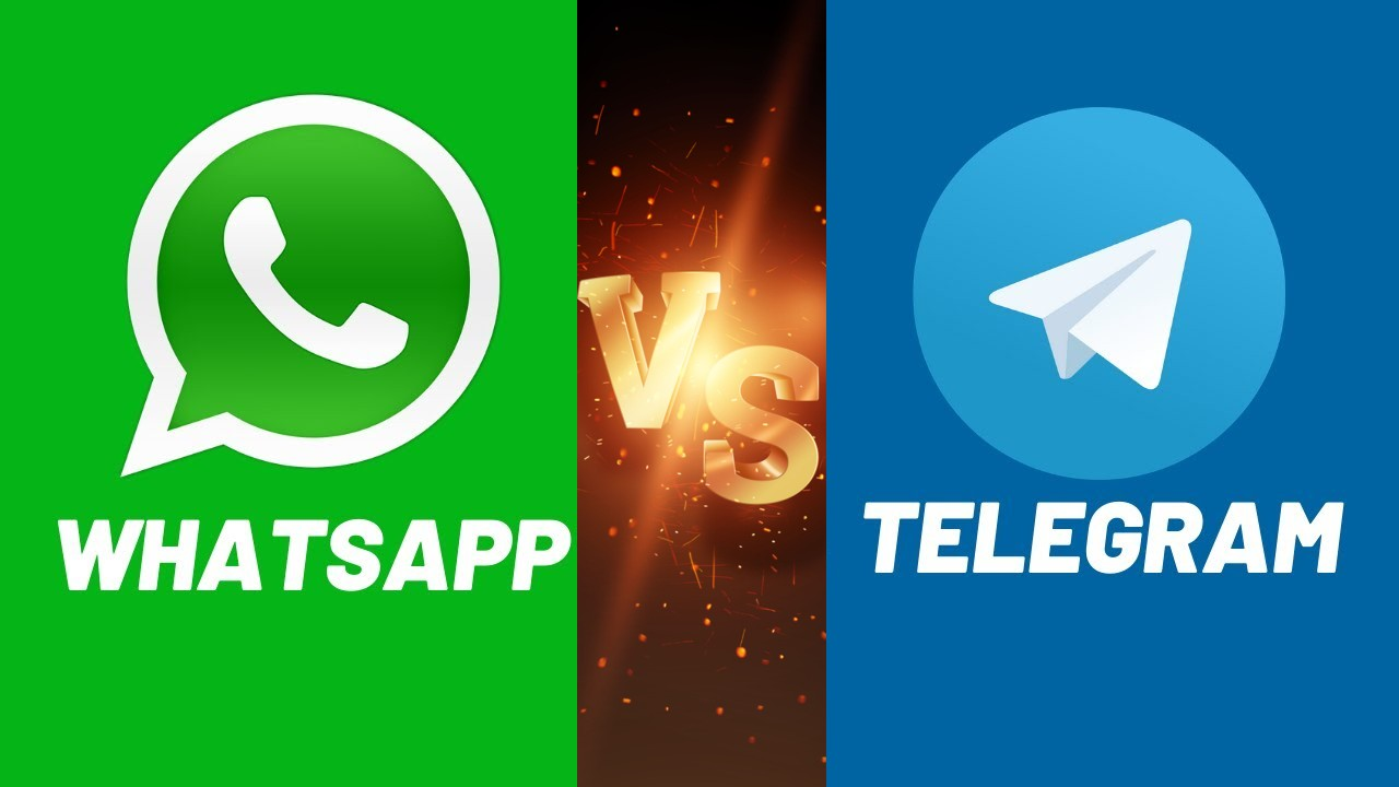 What's the difference between WhatsApp and Telegram?